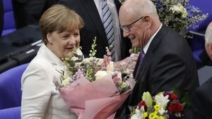 Angela Merkel elected to fourth term as German chancellor 171 days after elections