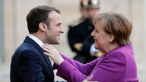 German and French leaders start work on 'road map' for EU's future
