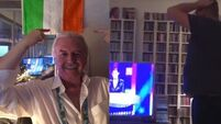 Eurovision reaction: Who do you think is more excited Marty Whelan or this Dublin man?