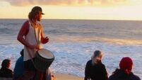 DAMIEN ENRIGHT: You just can't beat authenticity thanks to sunset drummers