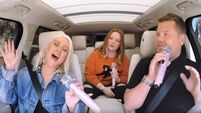 James Corden left in awe during Christina Aguilera's Carpool Karaoke