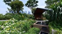 A look inside Peter Dowdall's gold medal garden from Singapore Garden Festival