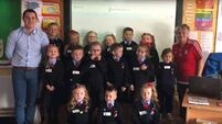 Baby Shark boi - Cork Junior Infants class take on the viral challenge