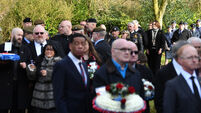 Scores turn out for funeral of RAF veteran who died with no known family