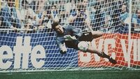 Packie Bonner's Italia '90 save voted favourite Irish moment
