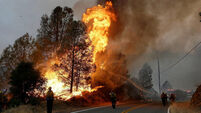 Wildfire threat in at least five US states, forecasters warn