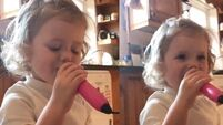 WATCH: The Carlow Rose's three-year-old daughter adorably copy her Mum singing 'Crazy World'