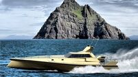 Cork-based marine company attempting trans-Atlantic record in Bond-esque boat
