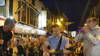 WATCH: Aslan's Christy Dignam perform 'Crazy World' on the streets of Kerry