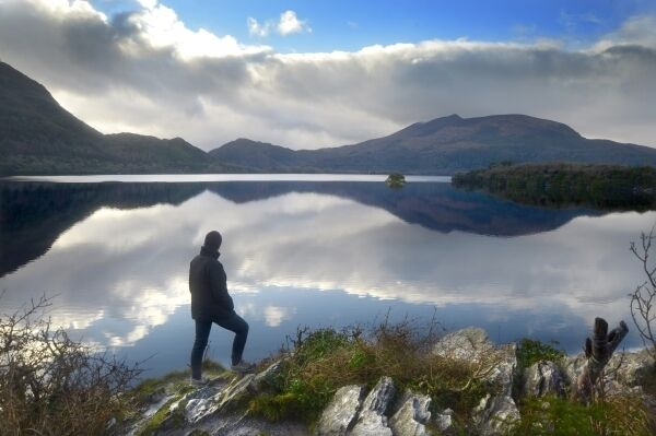 Lough Leane, Killarney National Park, Co Kerry. The master plan suggests charging for parking at Muckross, expanding shuttle bus services, and adding cycle and walking trails. Picture: Denis Scannell