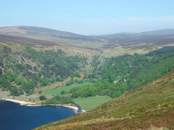 The Guinness family Luggala estate in Co Wicklow. The state is considering buying the area for a visitor centre. Picture: PA Wire