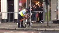 Watch: Garda removes bikes from outside restaurant where Harry and Meghan enjoy lunch