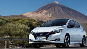 Nissan report record demand for their electric car in Ireland