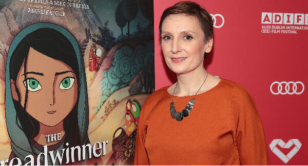 Director Nora Twomey pictured tonight at the Audi Dublin International Film Festival Gala Irish Premiere of Oscar-nominated animation The Breadwinner. Pic: Brian McEvoy