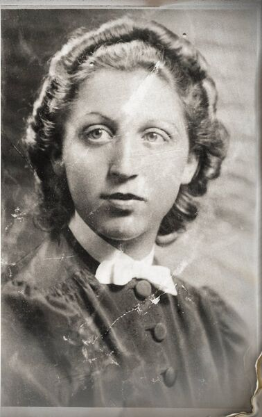 Greta Kernek, Holocaust survivor and mother of David .David survived an attempted do-it-yourself abortion.