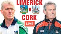 Watch live: Cork and Limerick compete for Munster Hurling League silverware