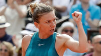 World number one Simona Halep finally wins her first grand slam title
