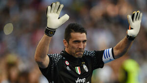 Buffon makes emotional farewell as Juventus sign off with win