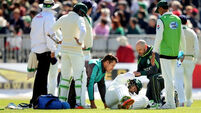First-ball drama as Ireland's Test cricket debut finally begins