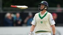 Ireland set Pakistan target of 160 after centurion Kevin O'Brien bowled out on first ball