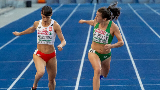 Heartbreak as Healy finishes fourth to end individual run in Berlin
