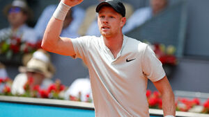Britain's Kyle Edmund causes Madrid Open upset beating Novak Djokovic in second round