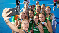 Incredible ambassadors for Irish hockey and for women's sport. And they're just getting started