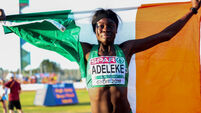 Gold rush for Ireland's U18 at European Athletics Championships