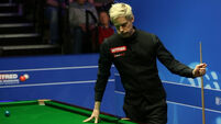 Neil Robertson the latest former world champion to be knocked out at the Crucible