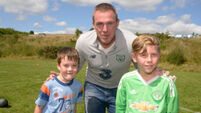 Watch: Richard Dunne and Ray Houghton attend FAI Festival of Football event in Bandon