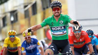 Dan Martin misses out as Peter Sagan wins Tour de France stage five