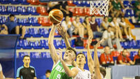 Ireland U18 men storm home to opening game win at European Championships