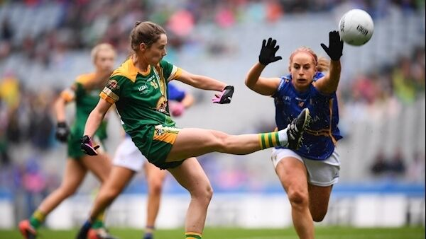 Fiona O'Neill of Meath and Niamh Lonergan of Tipp. Picture: Sportsfile