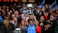 Dublin beat Galway to claim third consecutive All-Ireland title in front of record crowd