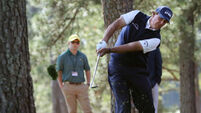 Phil Mickelson suffers air-shot embarrassment at the Masters