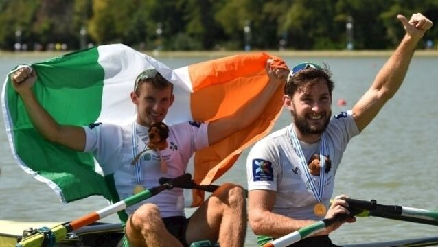 O'Donovans and Puspure celebrate golden moments at World Rowing Championships