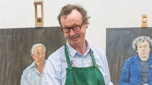 'I ask people to sit in three directions': Mick O'Dea on painting portraits of famous Irish people