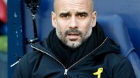 Pep Guardiola fined £20,000 for wearing yellow ribbon on touchline