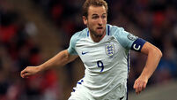 Harry Kane named as England's World Cup captain