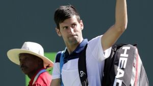 Novak Djokovic defeated in second round of Miami Open