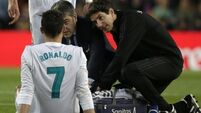 Zinedine Zidane expects injured Cristiano Ronaldo to feature in Champions League final