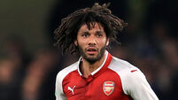 Mohamed Elneny available for Arsenal after being 'wrongly dismissed' against Southampton
