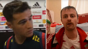 Coutinho is not a fan of Cork comedian's viral Liverpool chant