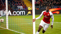 Arsenal survive CSKA Moscow scare to reach Europa League last four