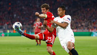 Bayern through to Champions League semis after second-leg draw with Sevilla