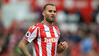 Stoke boss refuses to comment amid reports of on-loan PSG forward's training no-show