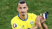 Zlatan Ibrahimovic WON'T play for Sweden at the World Cup