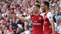 Late flurry against West Ham sees Arsenal seal 4-1 win