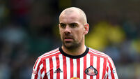 Darron Gibson leaves Sunderland by mutual consent