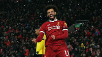 Super Salah hits four as Liverpool put Watford to the sword